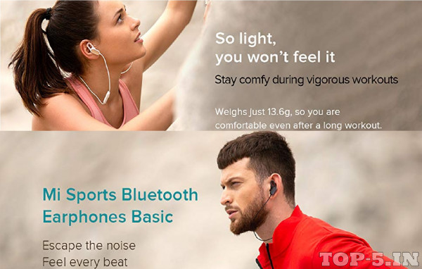 Mi Sports Bluetooth Headset with Mic