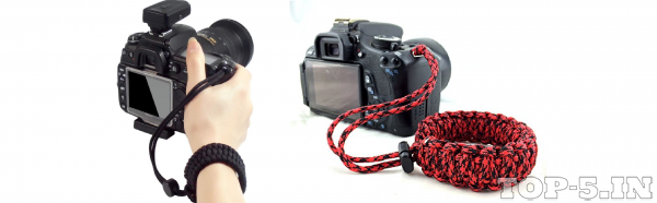 Techlife Braided King Cobra Style Hand Grip Wrist Strap
