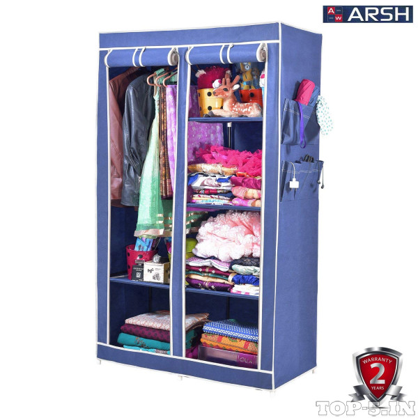 Arsh Collapsible Wardrobe