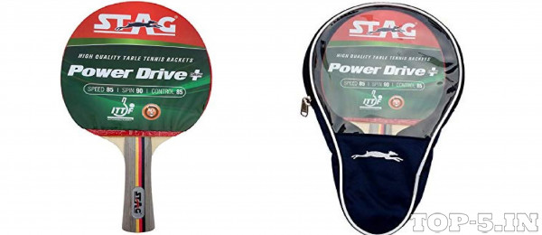Stag Drive Plus Table Tennis Racquet