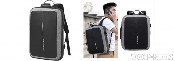 MOCA Fashio Style Anti-Theft Backpack