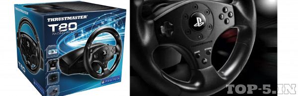 Thrustmaster Racing Wheel for PS3/PS4 - T80 RS Edition