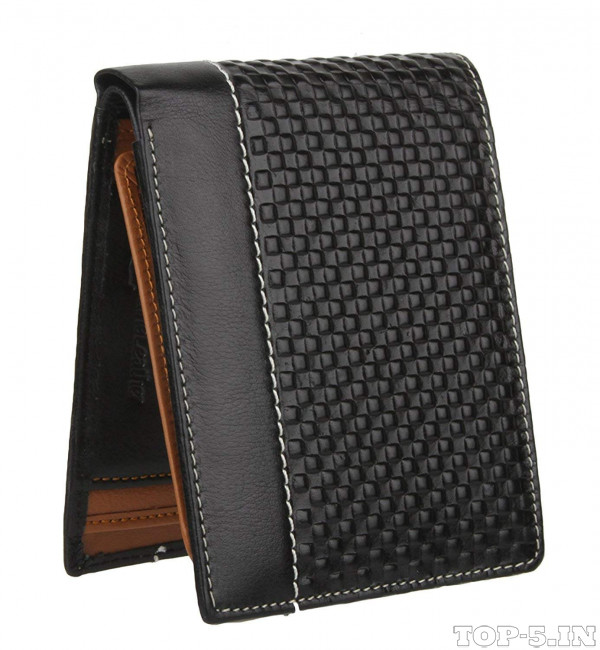 K London Black Wallet