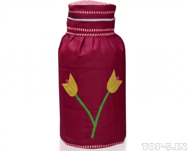 Yellow Weaves Gas Cylinder Cover