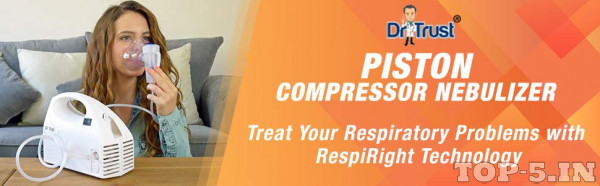 Dr Trust Piston Compressor Handy Nebulizer