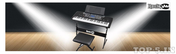 RockJam RJ561 61-Keys Electronic Keyboard