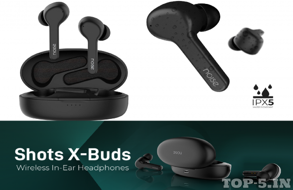 Noise Shots X-Buds Truly Wireless Bluetooth Headset with Mic