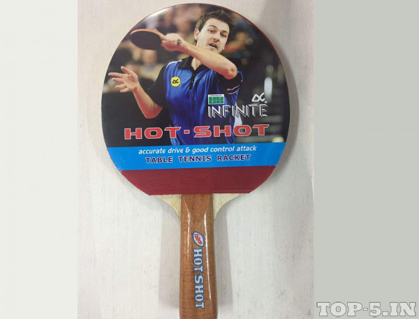 Infinite Hot Shot Table Tennis Racquet