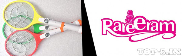 RAREERAM 2 in 1 Rechargeable Mosquito/Insect Racket