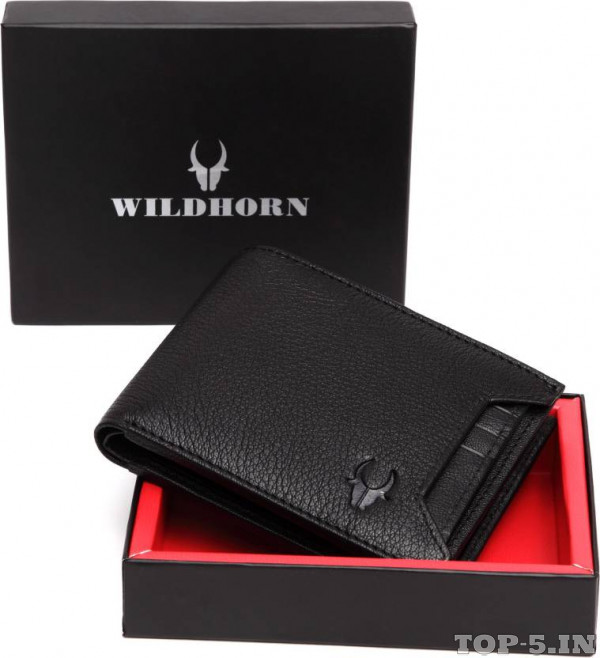 WildHorn Men Black