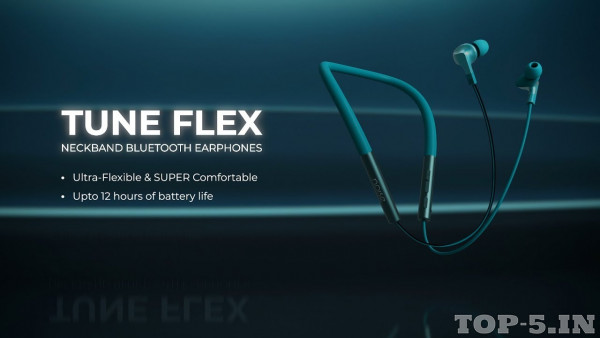 Noise Tune FLEX Neckband Bluetooth Headset